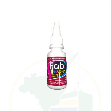 Lebensmittelfarbe - Corante NeoColor Vermelho Natal - 25g