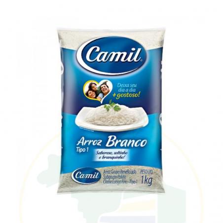 Weisser Reis - Arroz Branco Agulhinha CAMIL 1kg