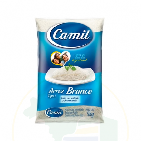 Weisser Reis - Arroz Branco Agulhinha CAMIL - 5 kg