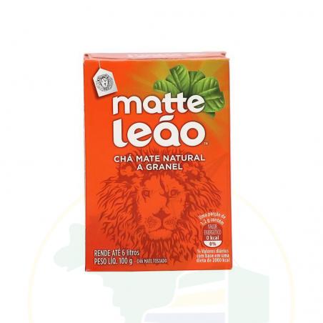 Mate Tee Pulver- Chá Matte Leão tradicional - Granel -  100g