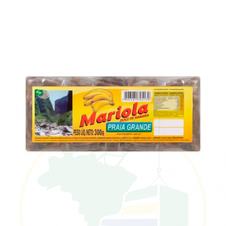 Bananen-Dessert - Mariola - Doce de Banana Praia Grande - 300g