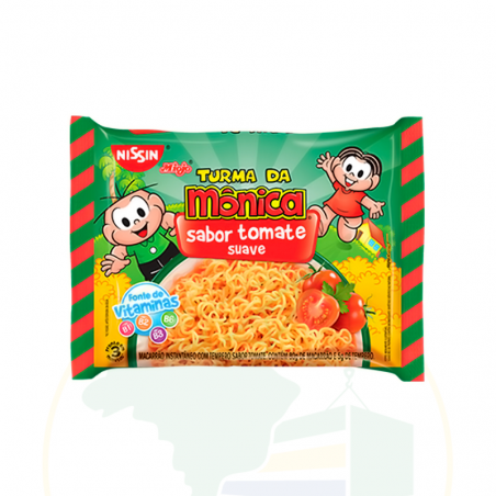 Nudelgericht Instant mit Tomatengeschmack - Nissin Miojo Lámen - Tomate - 85g
