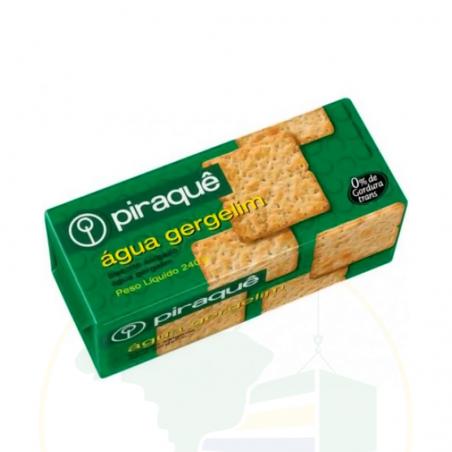 Kekse, gesalzen - Biscoito Piraquê Água Gergelim - 240g