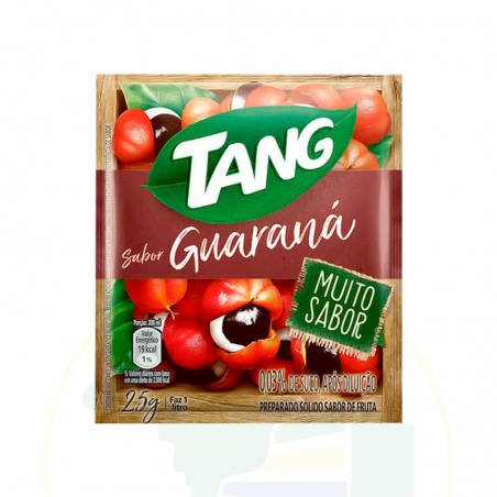 Getränkepulver Instant mit Guaranageschmack - Suco em Pó Tang Guaraná - sachê 25g