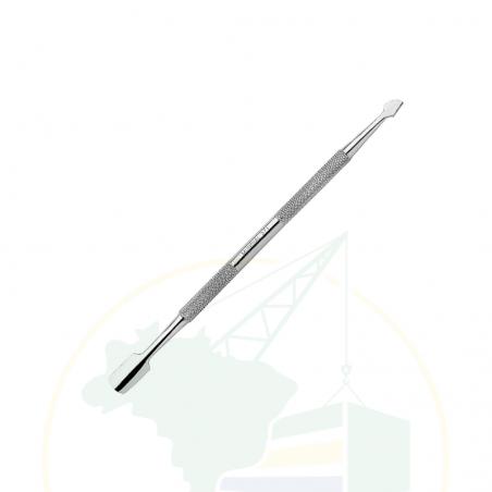 Nagelhaut Spatel - Espátula dupla - Mundial - Inox 371
