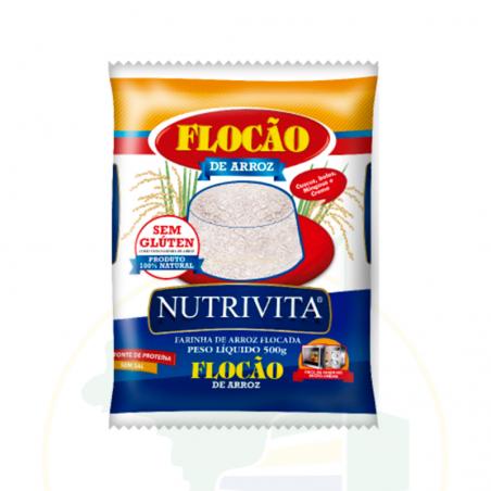 Reisflocken - Flocão de arroz Nutrivita - 500g