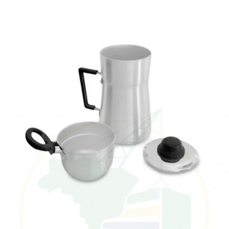 Mini Couscous-Topf - Mini Cuscuzeiro Alumínio - Eirilar - 800ml