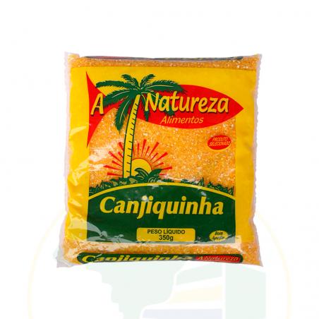 Geschälter, geschroteter gelber Mais - Canjiquinha - A Natureza - 350g