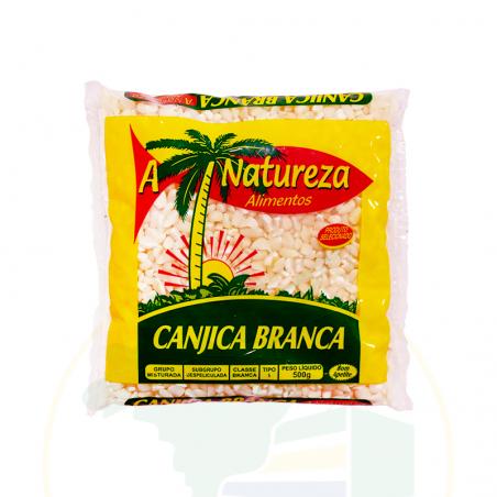 Geschälter, weisser Mais - Canjica de milho branca - A Natureza - 500g
