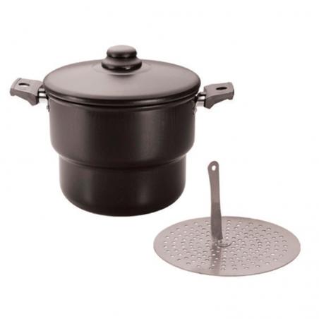 Couscous-Topf - Cuscuzeiro 2.4L antiaderente - N°16 - Eirilar
