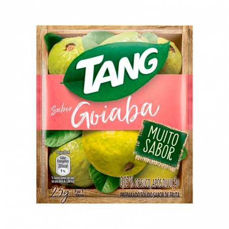 Getränkepulver Instant mit Guavegeschmack - Suco em Pó Tang Goiaba - sachê 25g