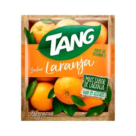 Getränkepulver Instant mit Orangengeschmack - Suco em Pó Tang Laranja - sachê 25g