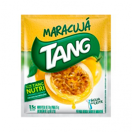 Getränkepulver Instant mit Maracujageschmack - Suco em Pó Tang Maracujá - sachê 25g
