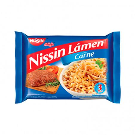 Nudelgericht Instant mit Fleischgeschmack - Nissin Miojo Lámen - carne - 85g