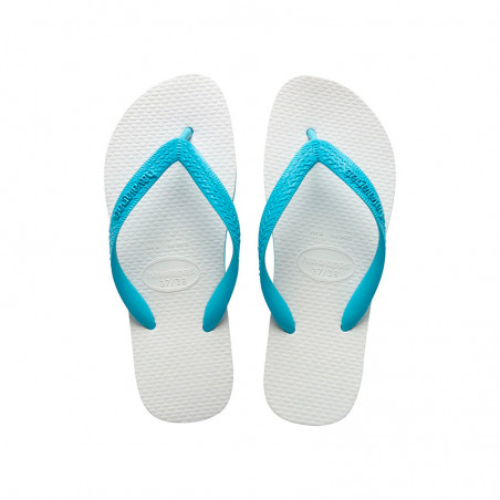 Sandalen Havaianas blau - Sandália Havaianas tradicional Azul 35/36