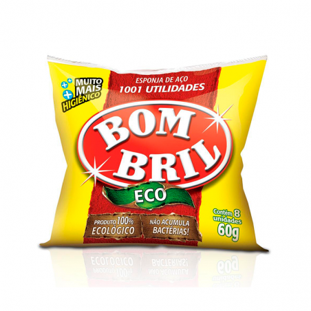 Esponja  em aço BomBril - 1001 utilidades