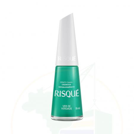 Esmalte Risqué Cremoso Verde Verdade - 8ml
