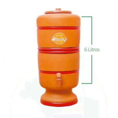 Wasserfilter 6 Liter - Filtro de Barro Standard - 6 Litros