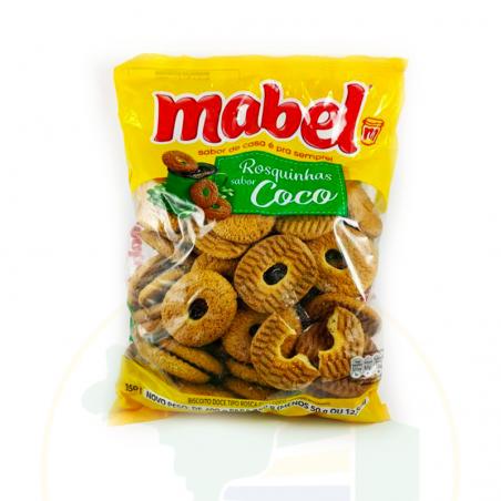 Kekse mit Kokosnussgeschmack - Rosquinha de Coco Mabel 350g