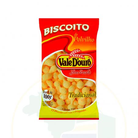 Biscoito de Polvilho - 100g -VALE D'OURO