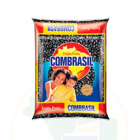 Getrocknete schwarze Bohnen - Feijão Preto COMBRASIL 1kg