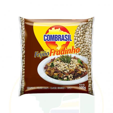 Feijão Fradinho COMBRASIL 500g - validade: 06.08.21