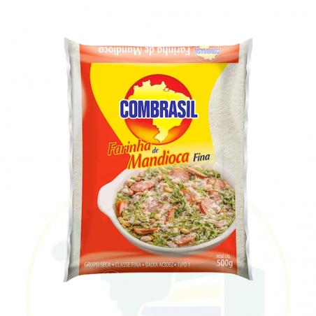 Maniokmehl weiss, fein - Farinha de Mandioca branca Fina COMBRASIL 500g