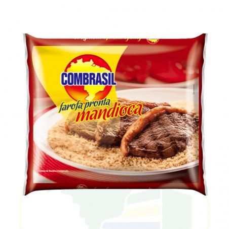 Maniokmehl, gewürzt - Farofa pronta de Mandioca COMBRASIL 250g