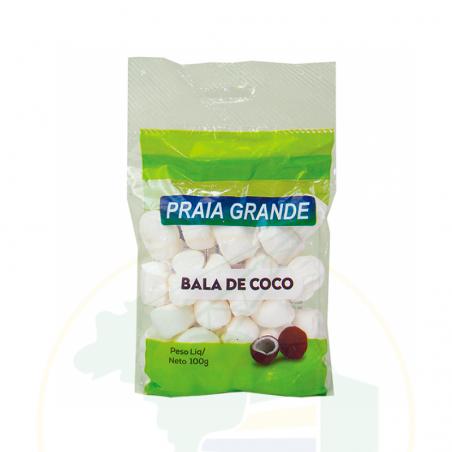 Bonbons mit Kokosgeschmack - Bala de Coco PRAIA GRANDE 100g