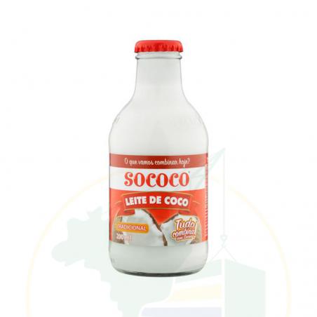 Kokosmilch - Leite de Coco SOCOCO - 200ml