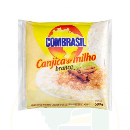 Geschälter, weisser Mais - Canjica de milho branca COMBRASIL 500g