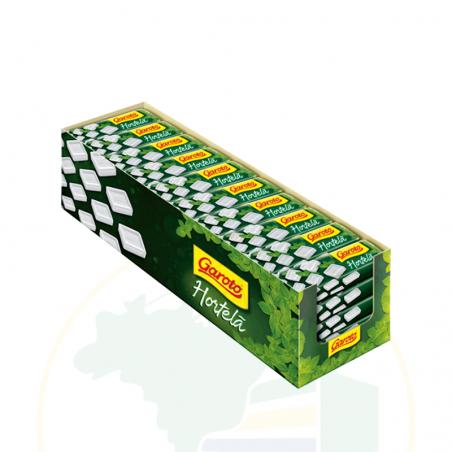 Bonbon mit Minzgeschmack - Pastilha GAROTO - hortelã -caixa 40 unidades