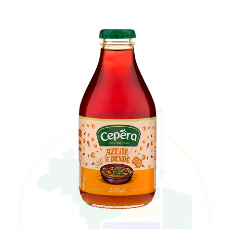 Palmöl - Azeite de Dendê CEPÊRA - 200ml