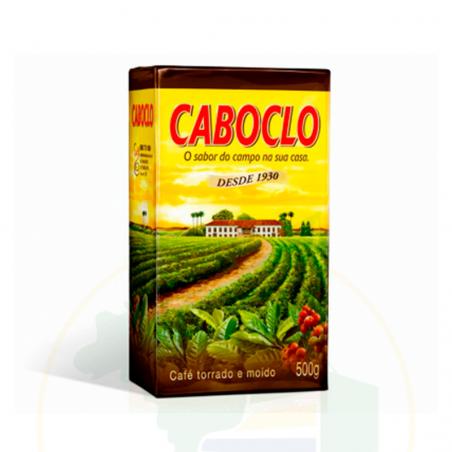 Kaffee, geröstet und gemahlen - Café Caboclo Torrado e Moído Vácuo 500g
