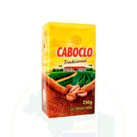 Kaffee, geröstet und gemahlen - Café Caboclo Torrado e Moído Vácuo 250g