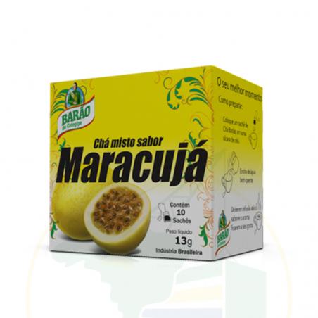 Passionsfrucht Tee - Chá misto de Maracujá Barão 13g