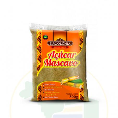 Brauner Zucker - Açúcar Mascavo Dacolônia 500g
