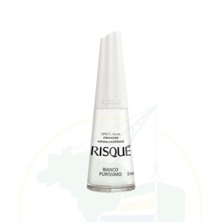 Nagellack - Esmalte Risqué Cremoso Bianco Puríssimo - 8ml