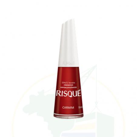 Nagellack - Esmalte Risqué Cremoso Carmim - 8ml