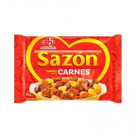 Gewürzmischung für Fleisch - Sazón Vermelho (Carnes) 60g