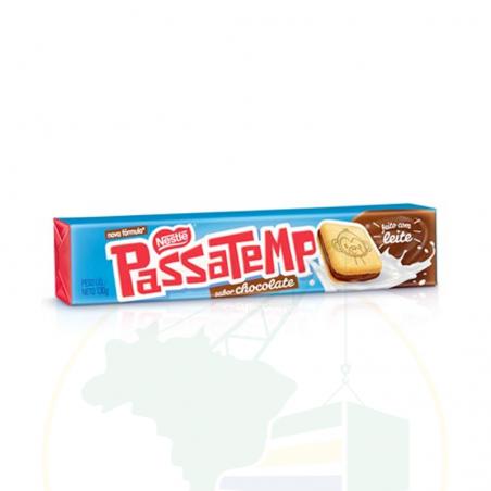 Biscoito Passatempo Ninho recheio de Chocolate - 130g