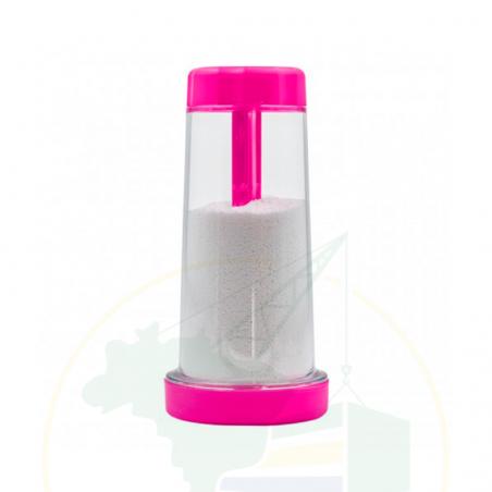 Plastikbehälter mit Sieb für Tapioka - Tapioqueira Tapy PINK