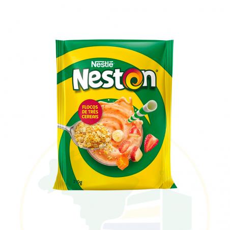 Milchbreimüsli - Neston Flocos 3 Cereais Nestlé - Lata - 400g