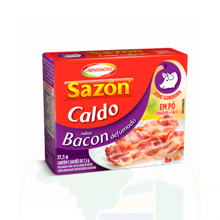 Gewürzmischung - Caldo em Pó Sazón Bacon Defumado - sachê - 37.5g
