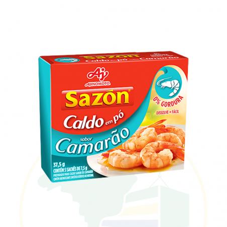 Caldo em Pó Sazón Camarão - sachê - 37.5g
