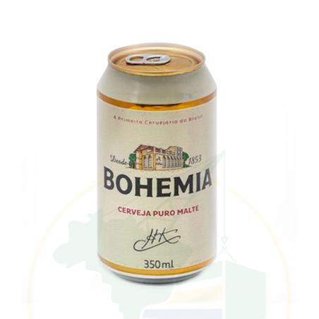 Bier Bohemia, Dose  - Cerveja Bohemia - Lata  - 350ml - 5% vol