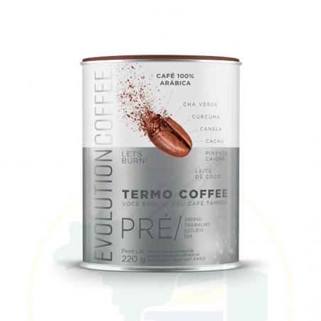 Kaffee geröstet, gemahlen - Evolution Coffe Café Termogênico Arábica - 220g
