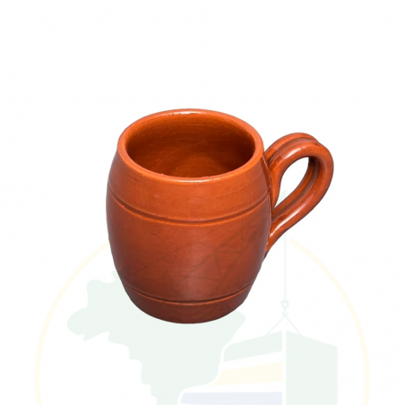 Tasse aus Ton - Caneca de Barro Esmaltada Artesanal - 200ml - unidade