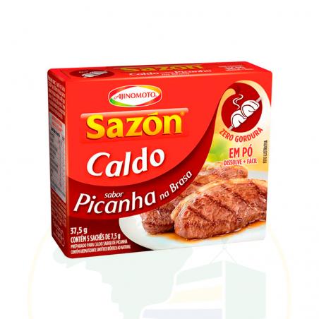 Caldo em Pó Sazón Picanha na Brasa - sachê - 37.5g