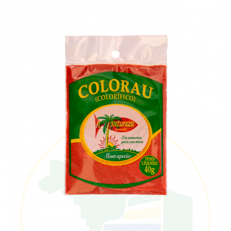 Lebensmittelfarbe aus Mais - Tempero Colorau - A NATUREZA - 40g
